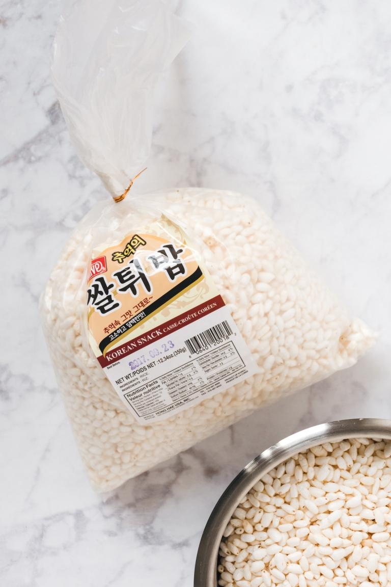 Rice-puff-bag